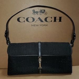 Authentic Coach Shimmer Optic Evening Bag